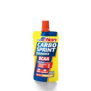 CARBO SPRINT® BCAA 50ml Gusto arancio